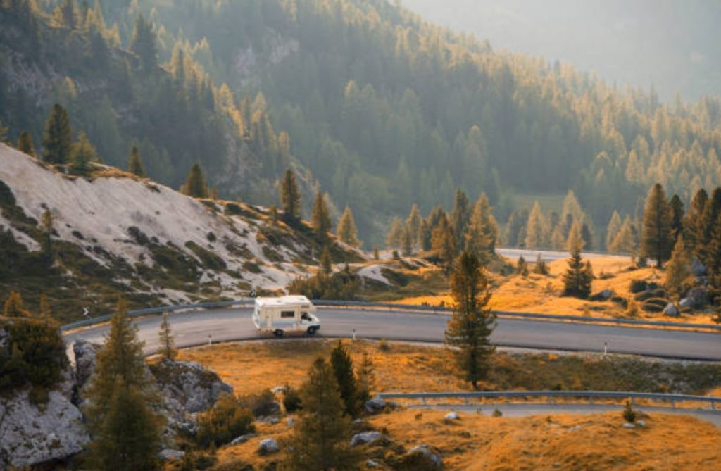 Experience the beauty of America in an RV