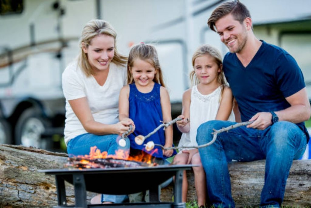 Kids are closer to fun in an RV